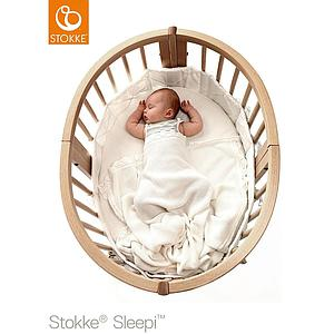 Cuna-cama mini SLEEPI Stokke blanco