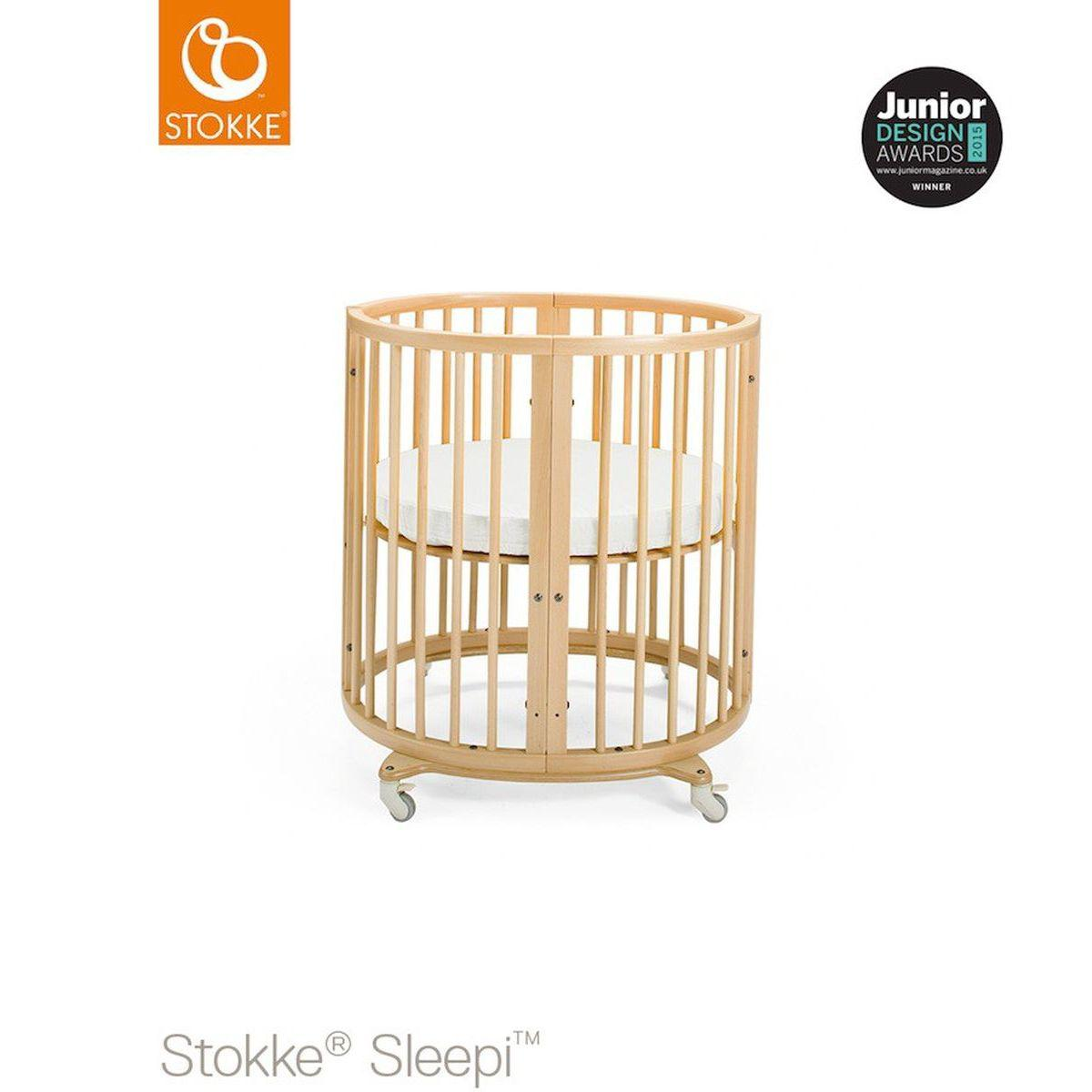 Cuna-cama mini SLEEPI Stokke natural
