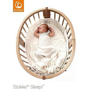 Cuna-cama mini SLEEPI Stokke natural