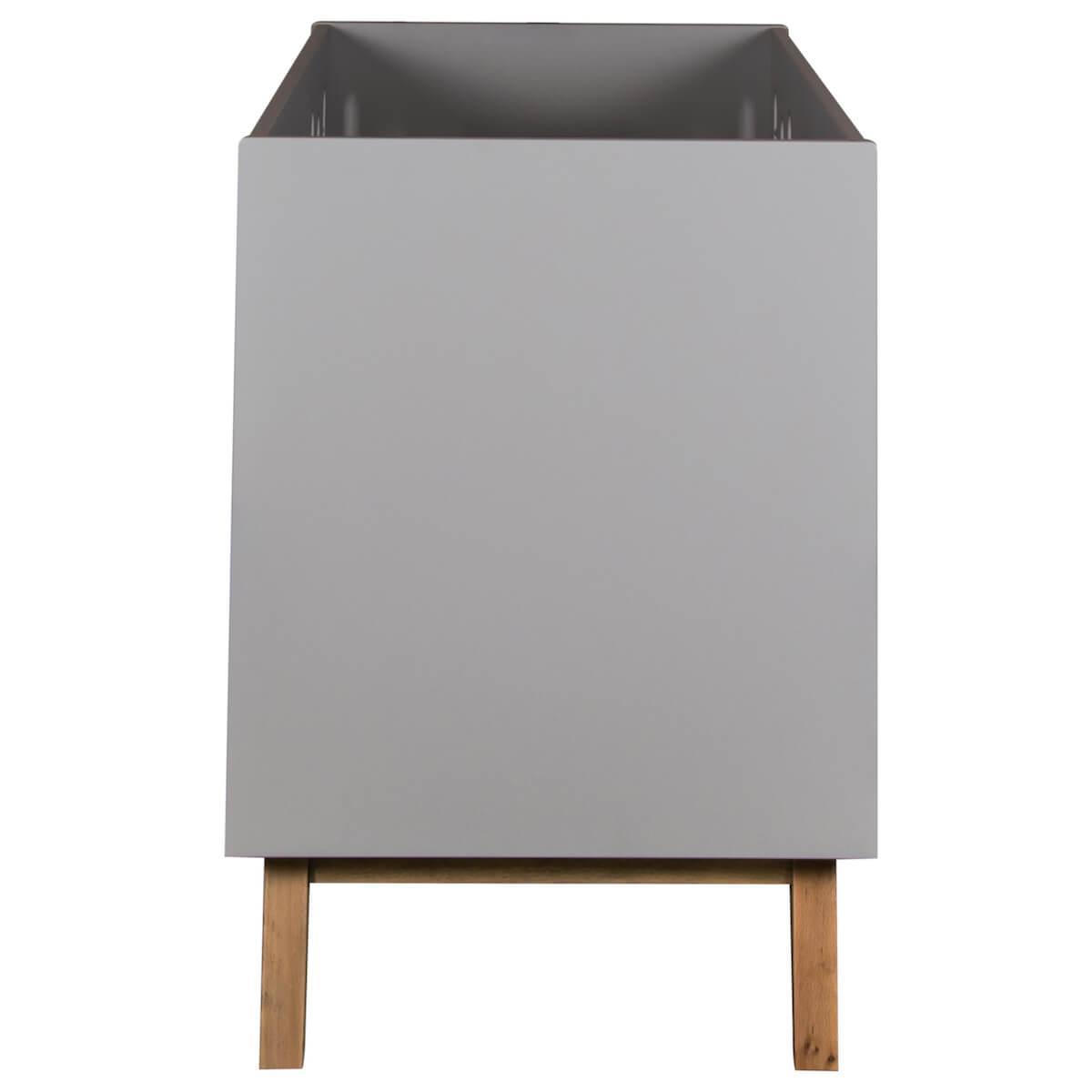 Cuna evolutiva 60x120cm TRENDY Quax griffin grey