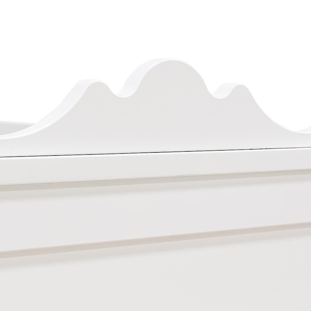 Cuna evolutiva 70x140cm BELLE Bopita blanco