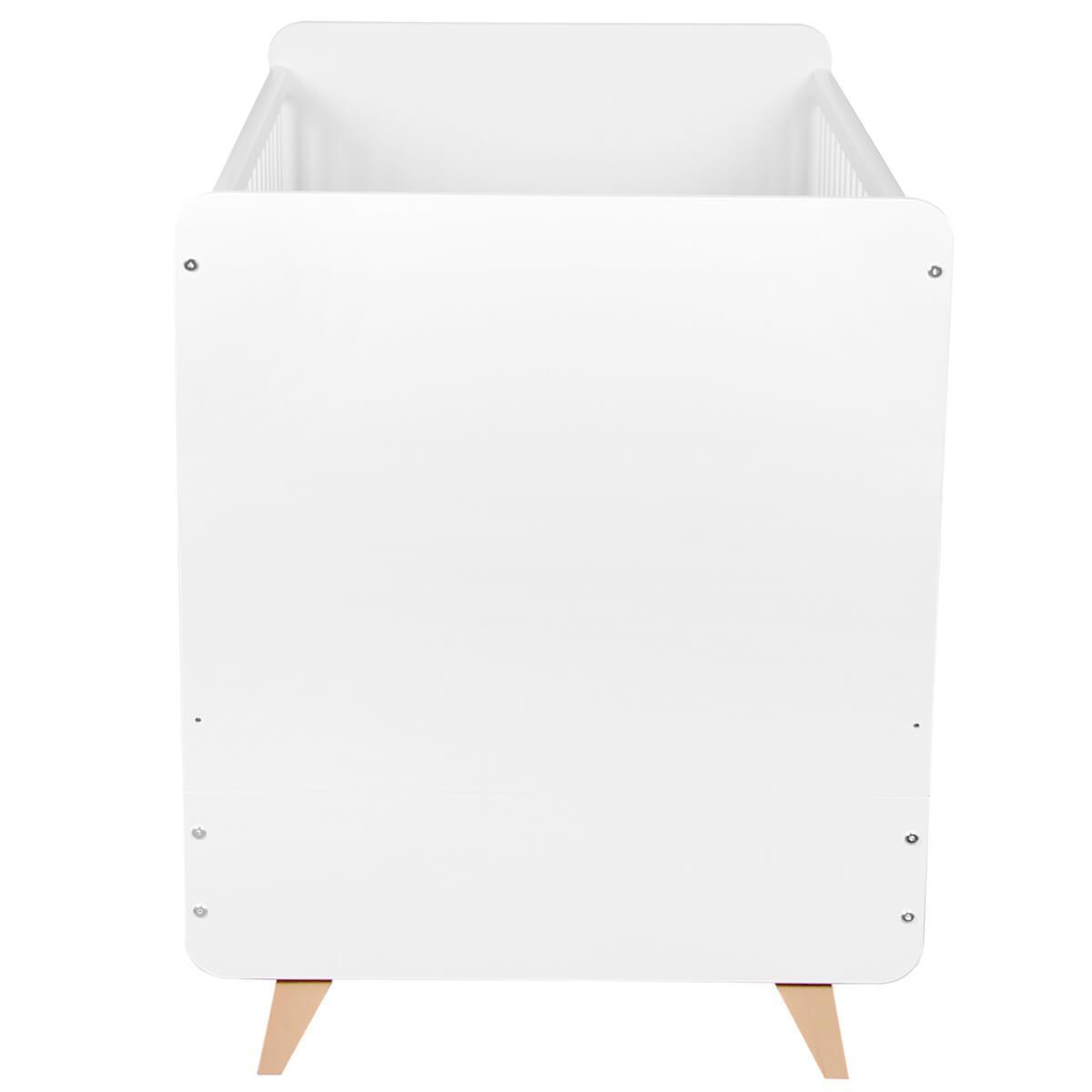 Cuna evolutiva 70x140cm LOFT Quax blanco