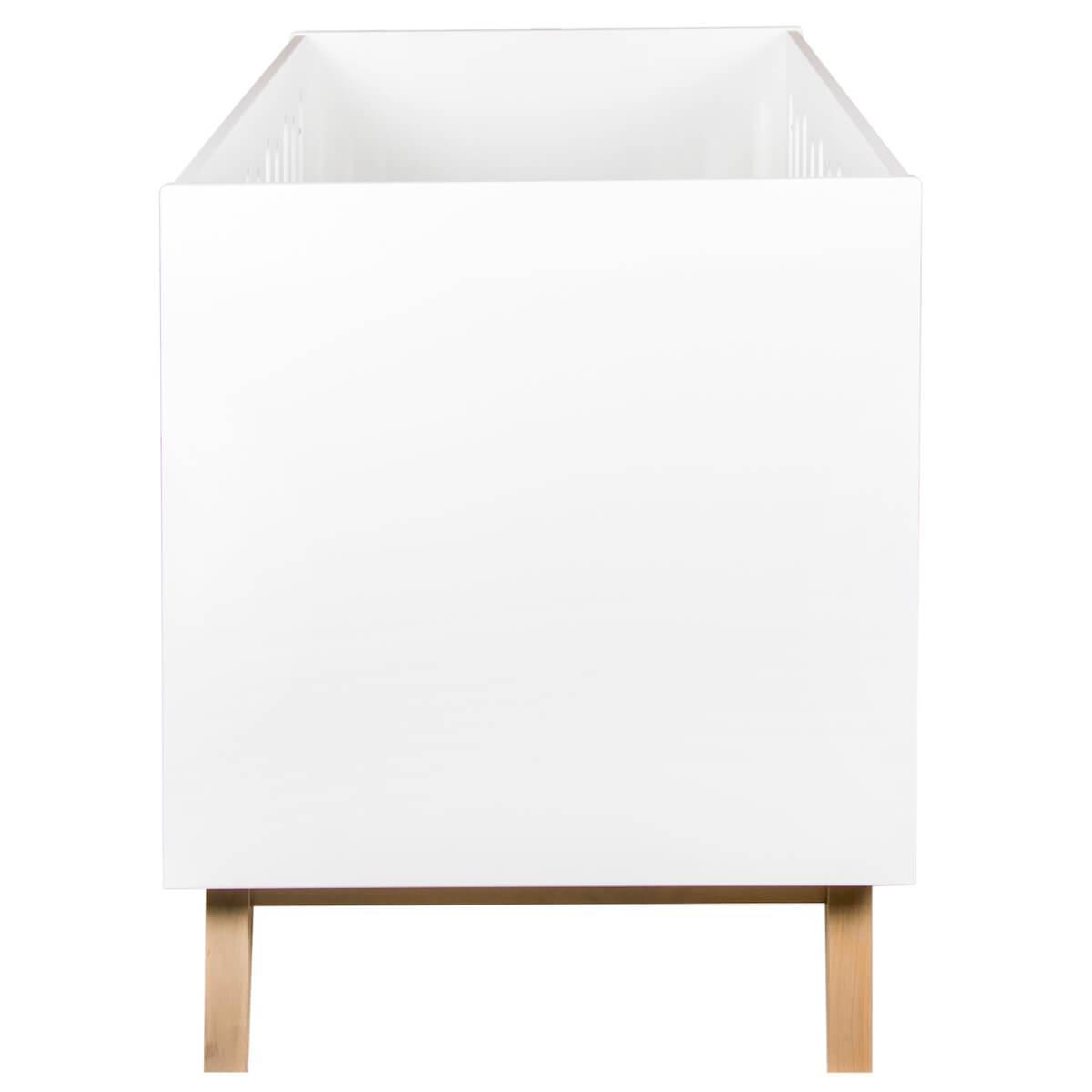 Cuna evolutiva 70x140cm TRENDY Quax blanco