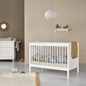 Cuna evolutiva SEASIDE LILLE+ BASIC Oliver Furniture blanco