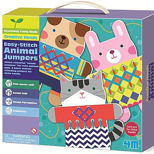 Easy-Stitch Animal Jumpers ARTE CON PINTURA 4M