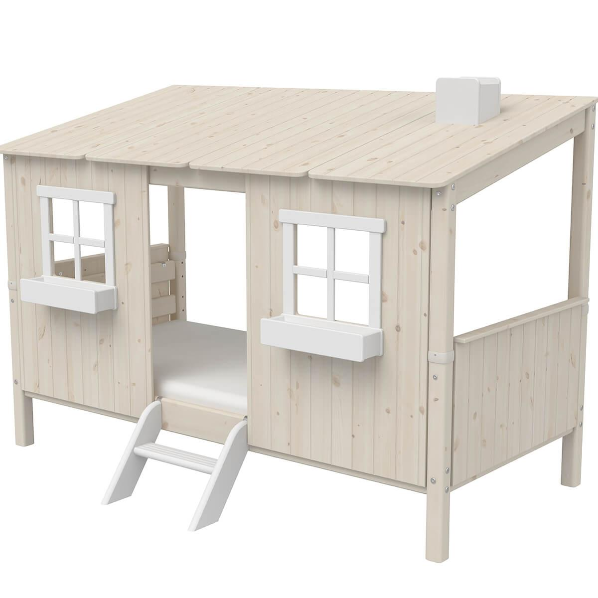 Escalera corta PLAY HOUSE CLASSIC Flexa blanco