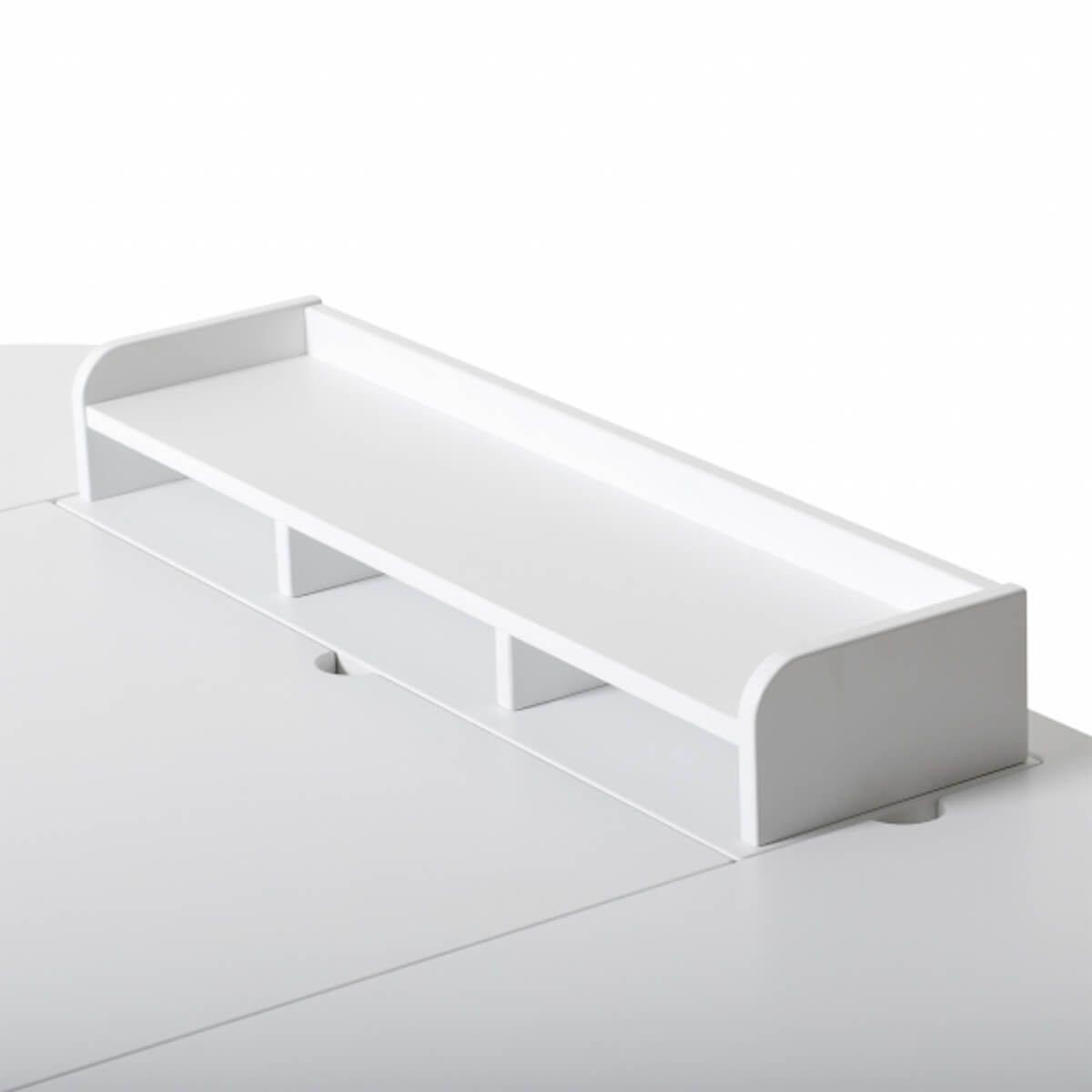 Escritorio 66cm WOOD Oliver Furniture blanco-roble