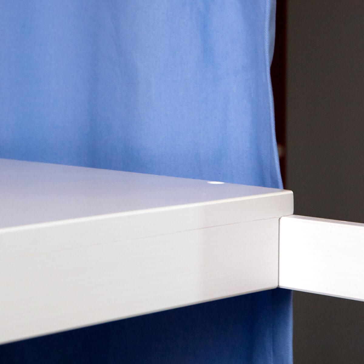 Escritorio cama alta DESTYLE de Breuyn haya blanco