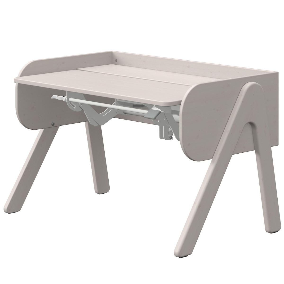 Escritorio evolutivo infantil WOODY Flexa grey washed