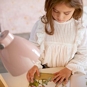 Escritorio infantil tapa regulable Lifetime blanco