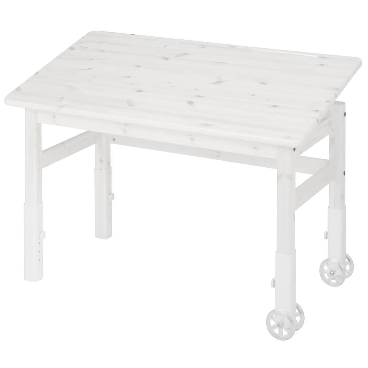 Escritorio tablero inclinable CLASSIC Flexa blanco cal