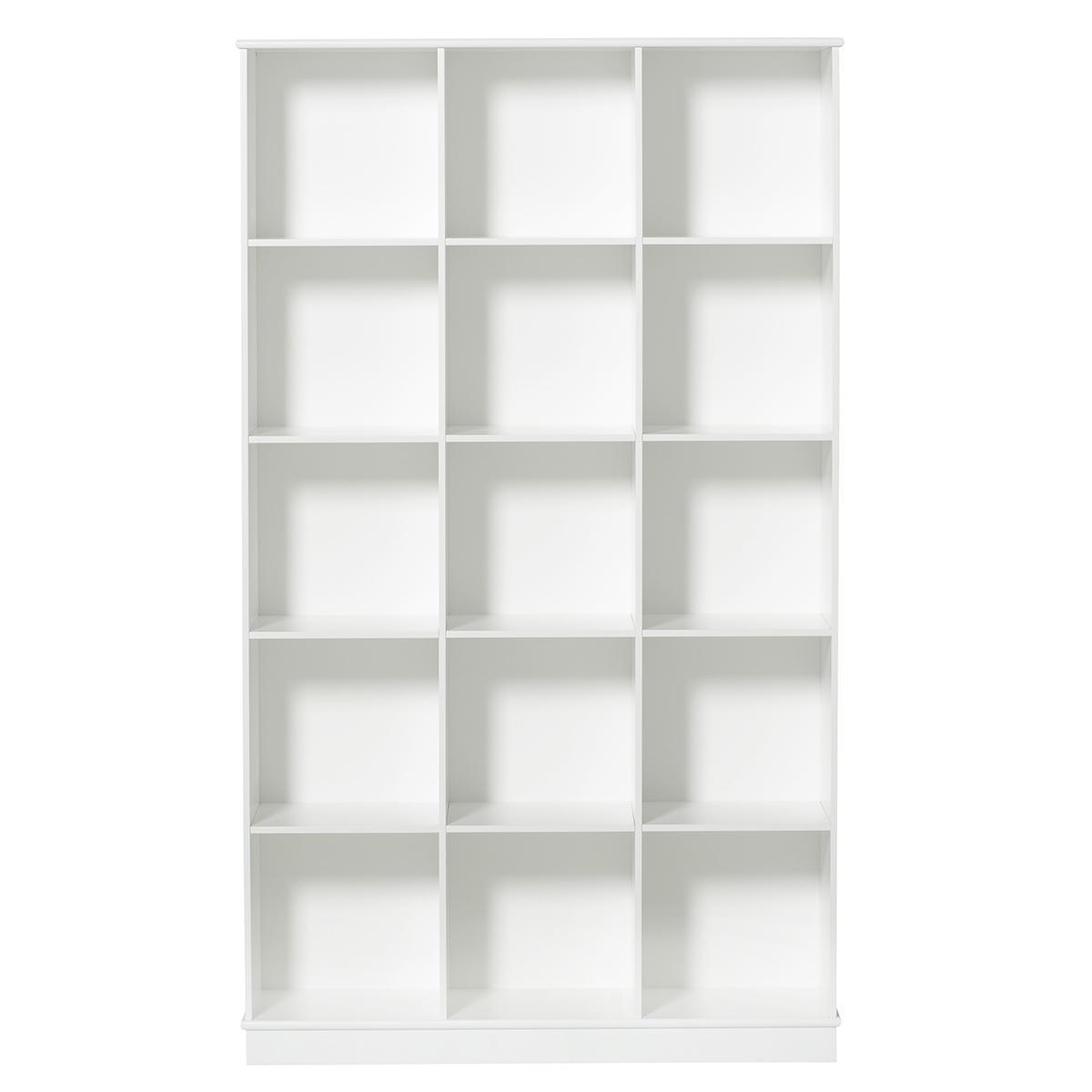Estantería 104x180cm WOOD Oliver Furniture blanco