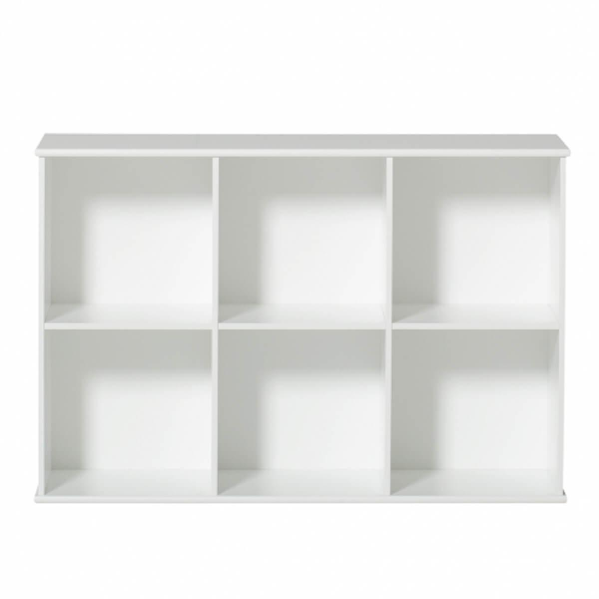 Estantería 106x78cm WOOD Oliver Furniture blanco