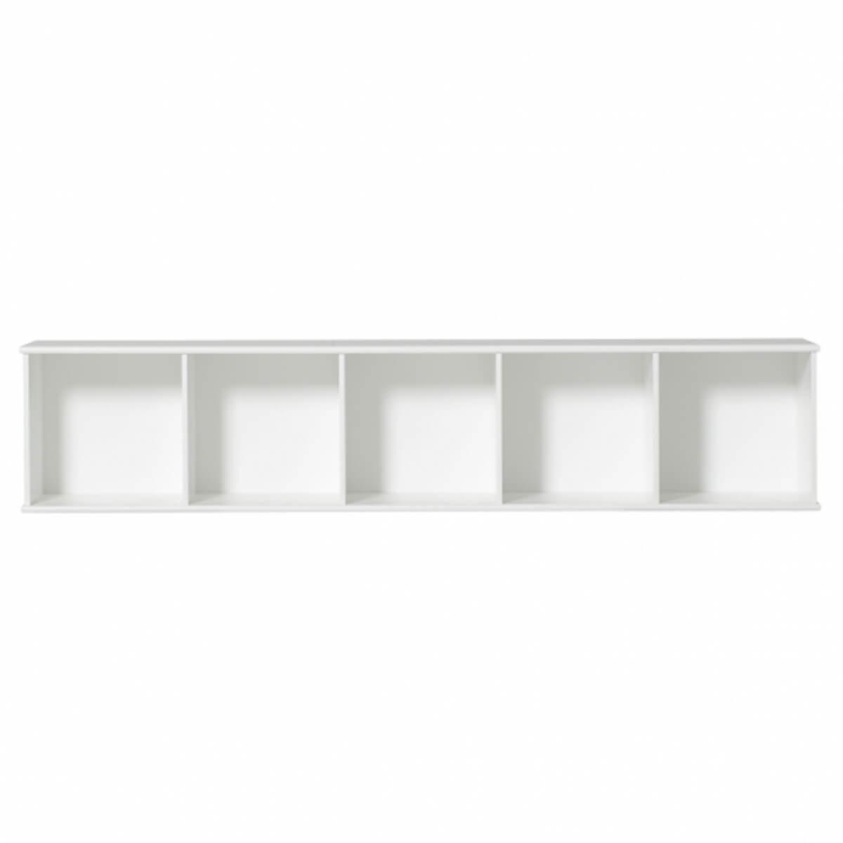 Estantería 174x43cm WOOD Oliver Furniture blanco