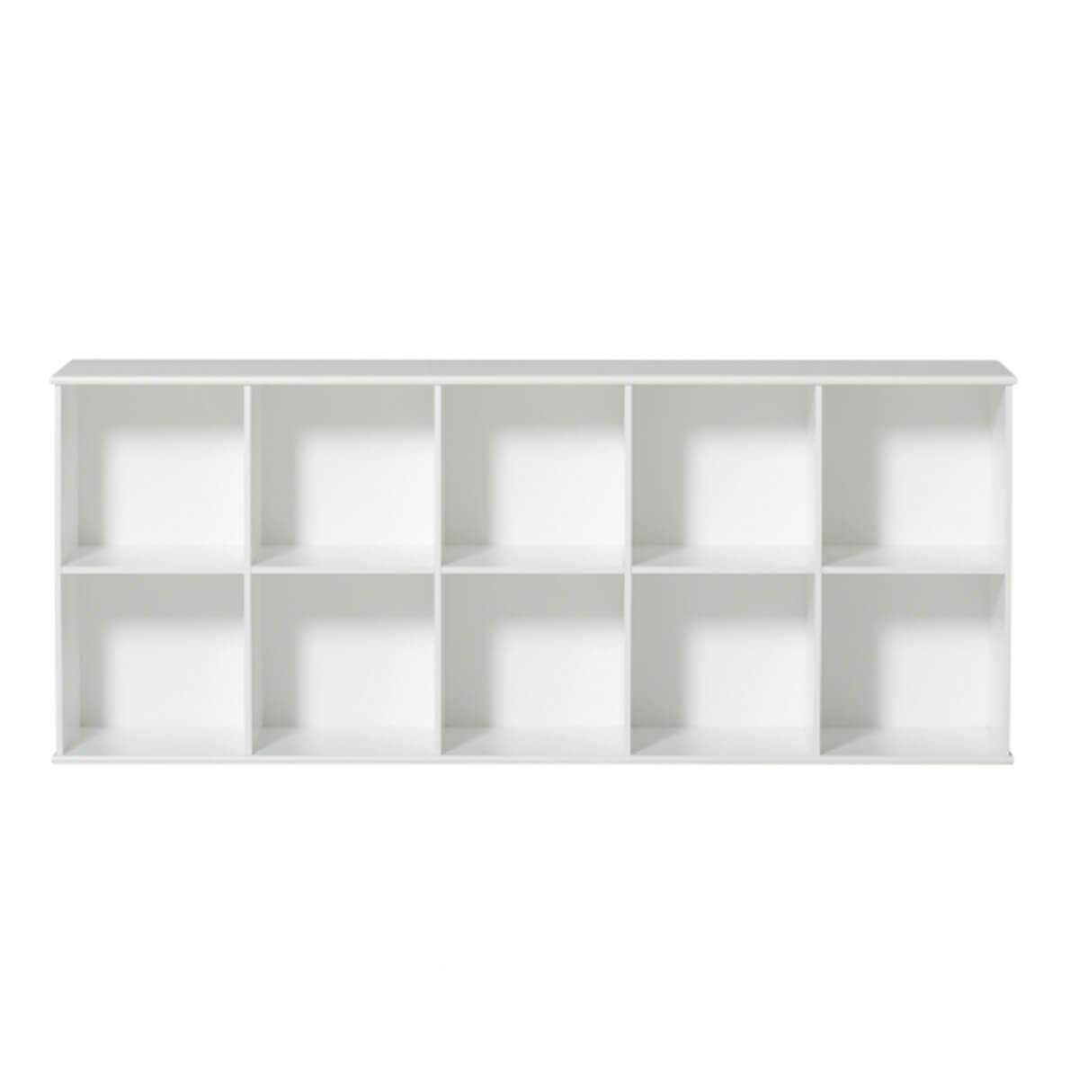 Estantería 174x71cm WOOD Oliver Furniture blanco