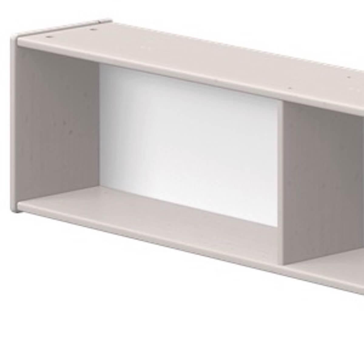 Estantería 3 compartimentos 200cm CLASSIC Flexa grey washed