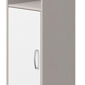 Estantería 38x135cm CLASSIC de Flexa grey washed-blanco