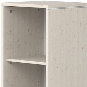 Estantería 38x135cm STUDY CLASSIC Flexa blanco cal-blanco