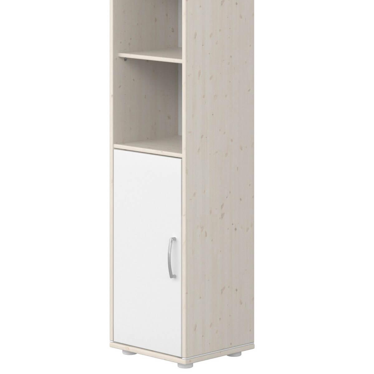 Estantería 38x202cm CLASSIC de Flexa blanco cal-blanco