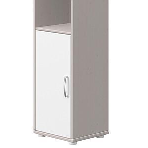 Estantería 38x202cm CLASSIC de Flexa grey washed-blanco