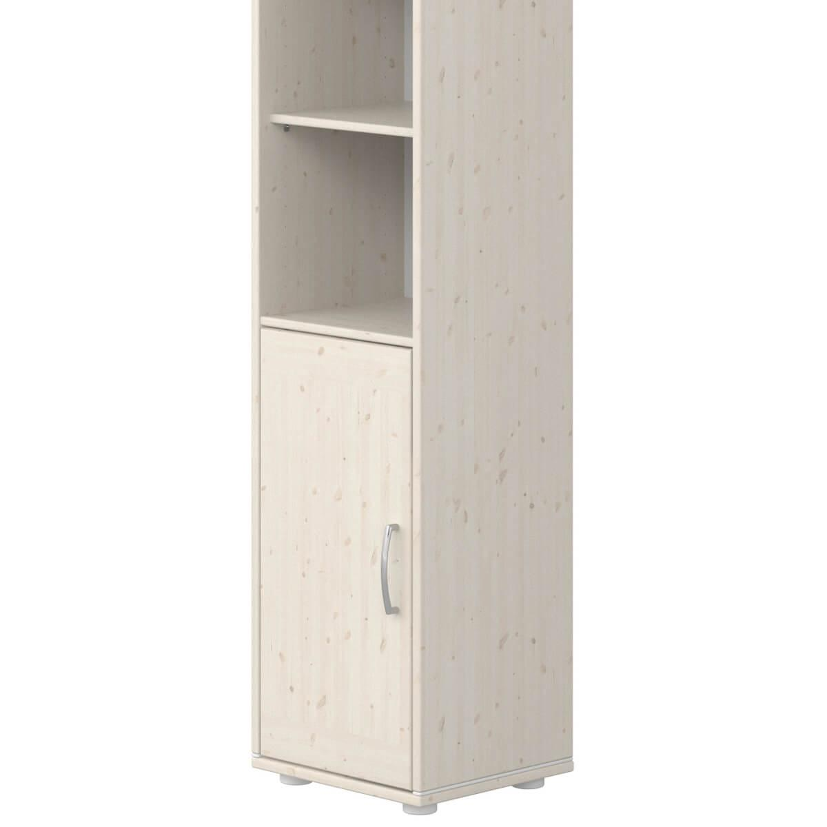 Estantería 38x202cm CLASSIC Flexa blanco cal