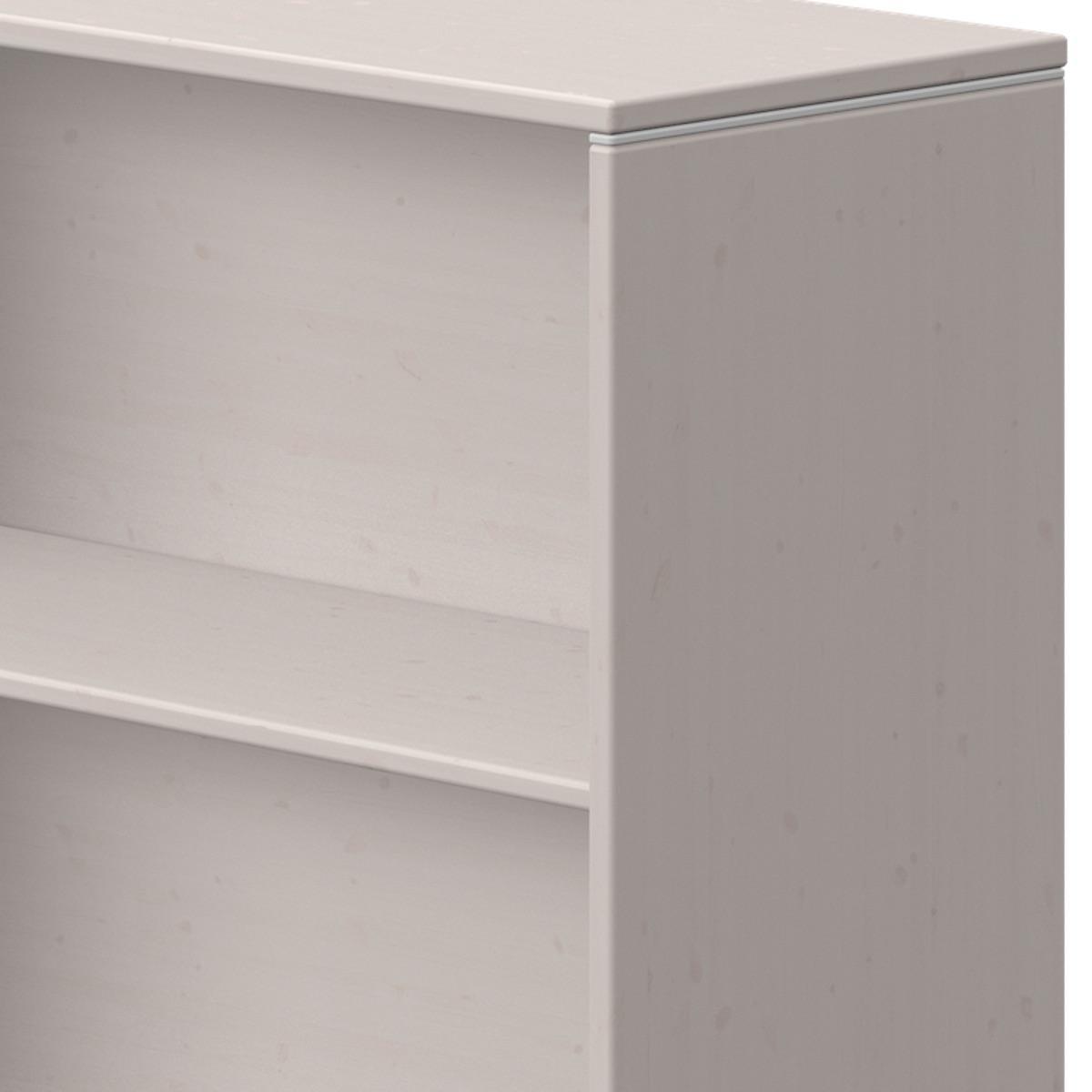 Estantería 63x72cm CLASSIC Flexa grey washed-blanco