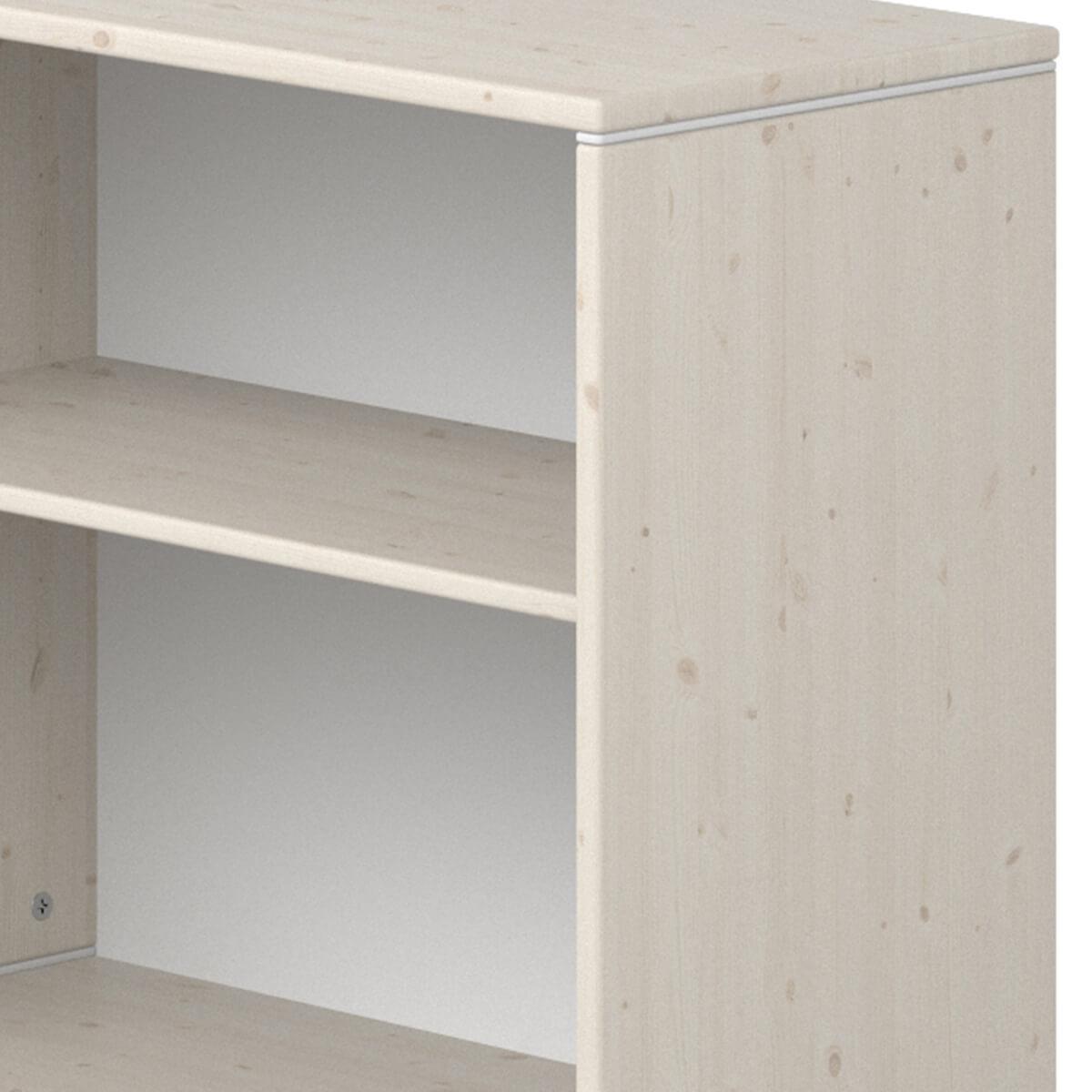 Estantería 63x72cm STUDY CLASSIC Flexa blanco cal-blanco