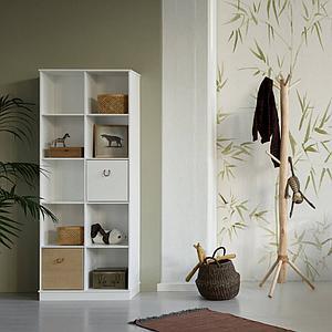 Estantería 70x180cm WOOD Oliver Furniture blanco