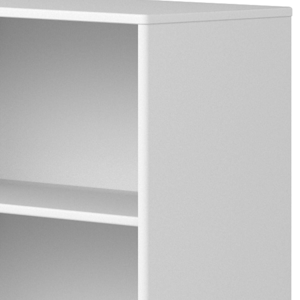 Estantería 72x135cm STUDY CABBY Flexa blanco