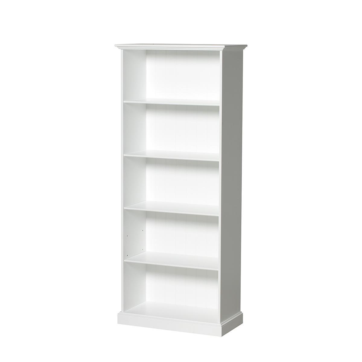 Estantería alta SEASIDE Oliver Furniture blanco