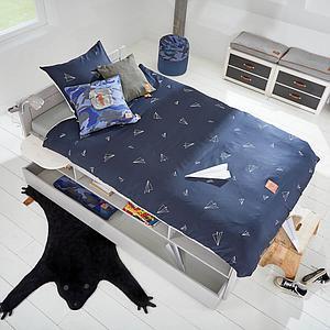 Estantería cama cabina Lifetime blanqueado