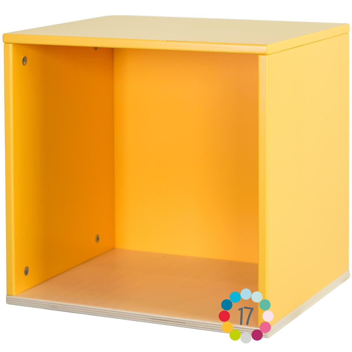 Estantería cubo COLORFLEX Abitare Kids nectar yellow