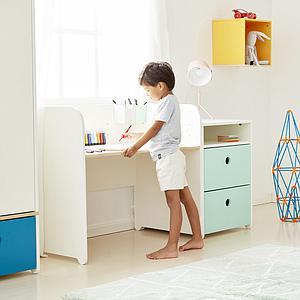 Estantería cubo COLORFLEX Abitare Kids paradise blue