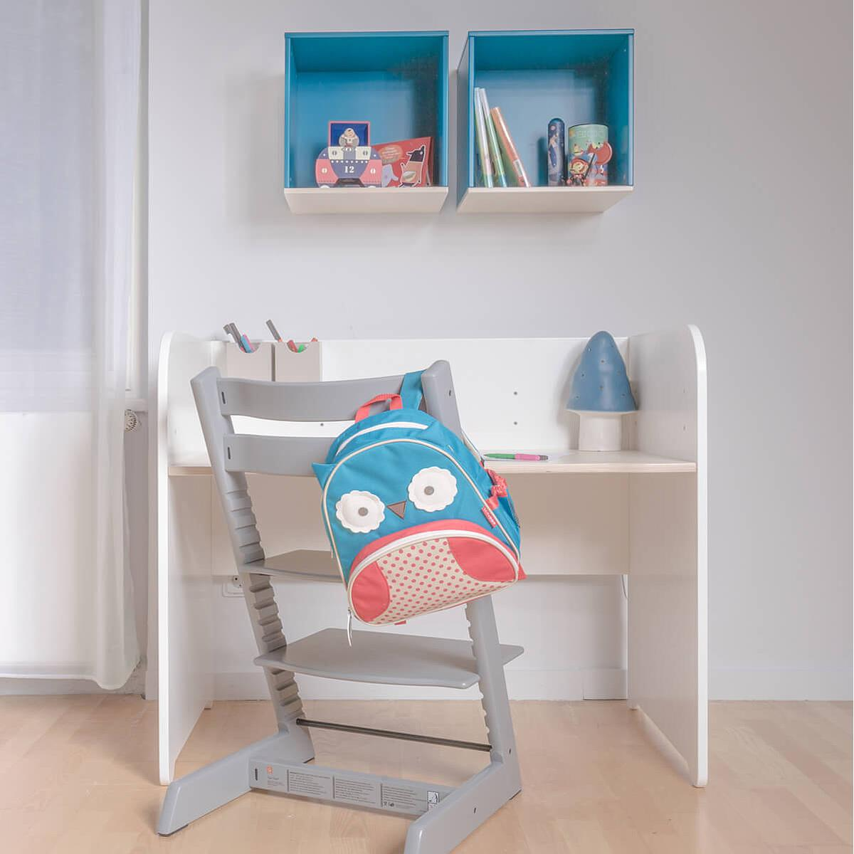 Estantería cubo COLORFLEX Abitare Kids warm grey