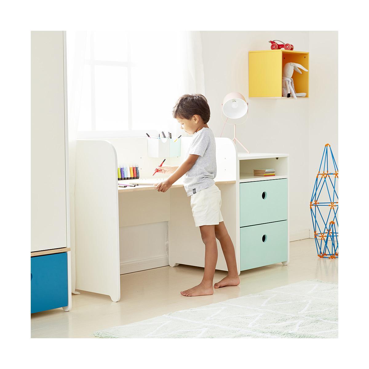 Estantería cubo COLORFLEX Abitare Kids white wash