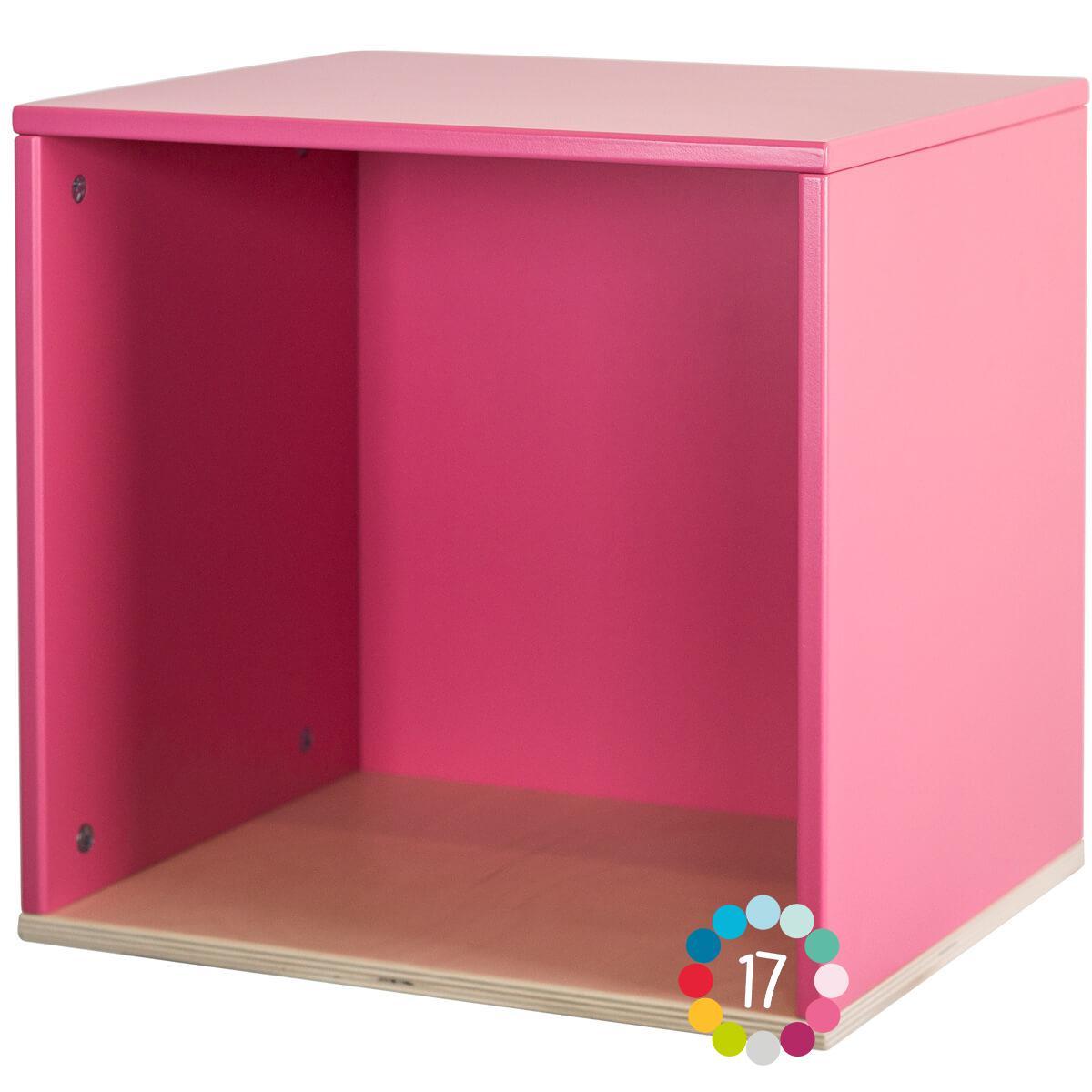 Estantería cubo COLORFLEX pink