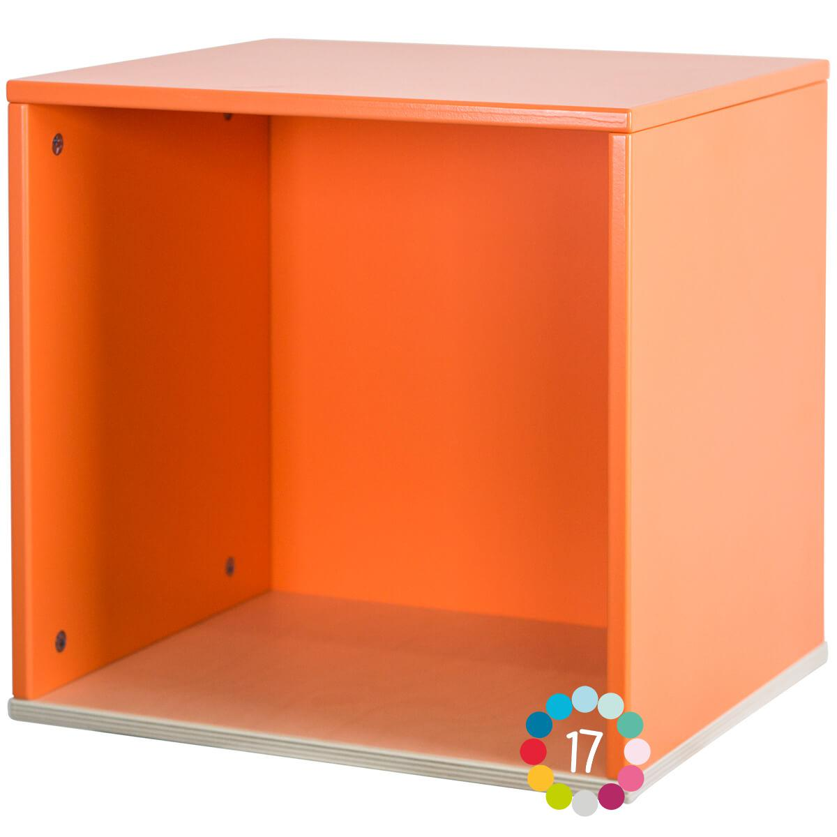 Estantería cubo COLORFLEX pure orange