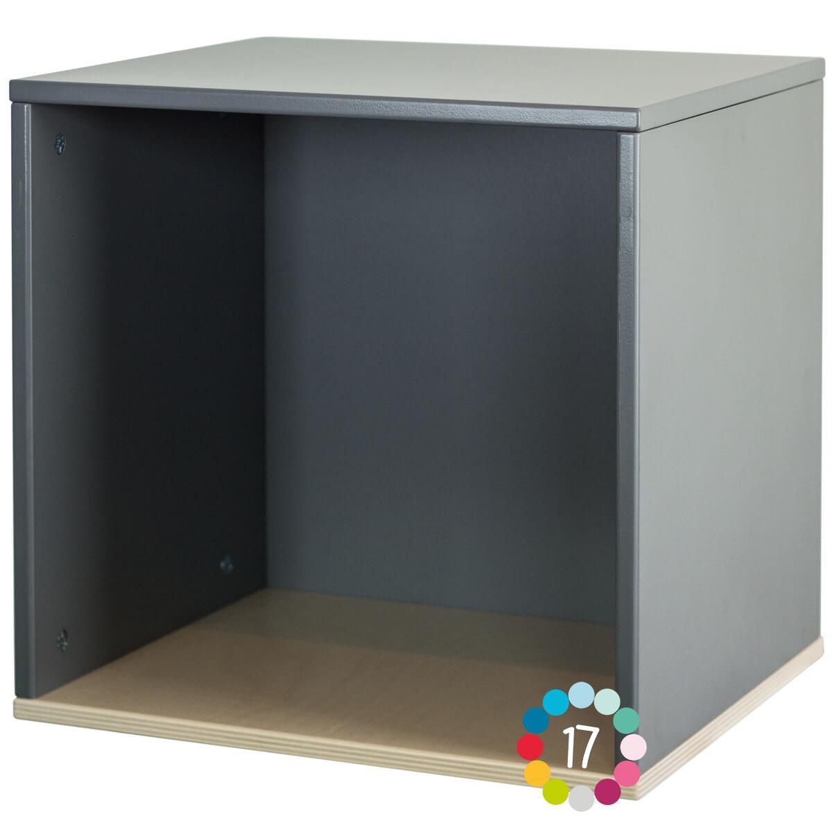 Estantería cubo COLORFLEX space grey