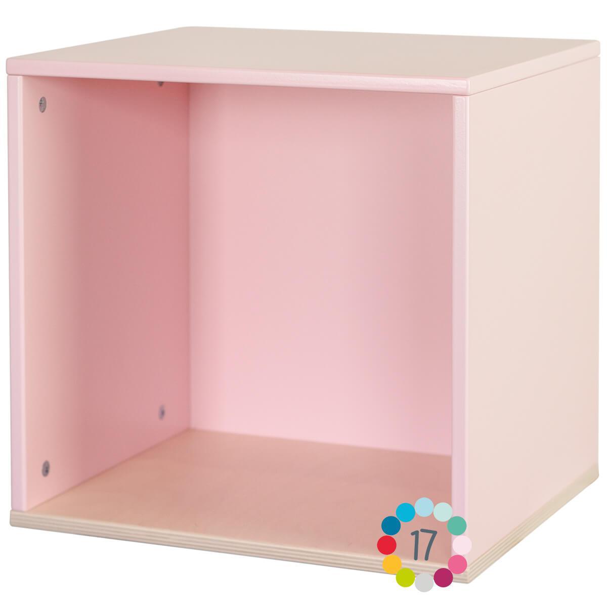 Estantería cubo COLORFLEX sweet pink
