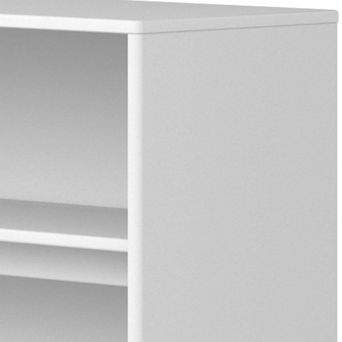 Estantería fijación cama 125x135cm STUDY CABBY Flexa blanco