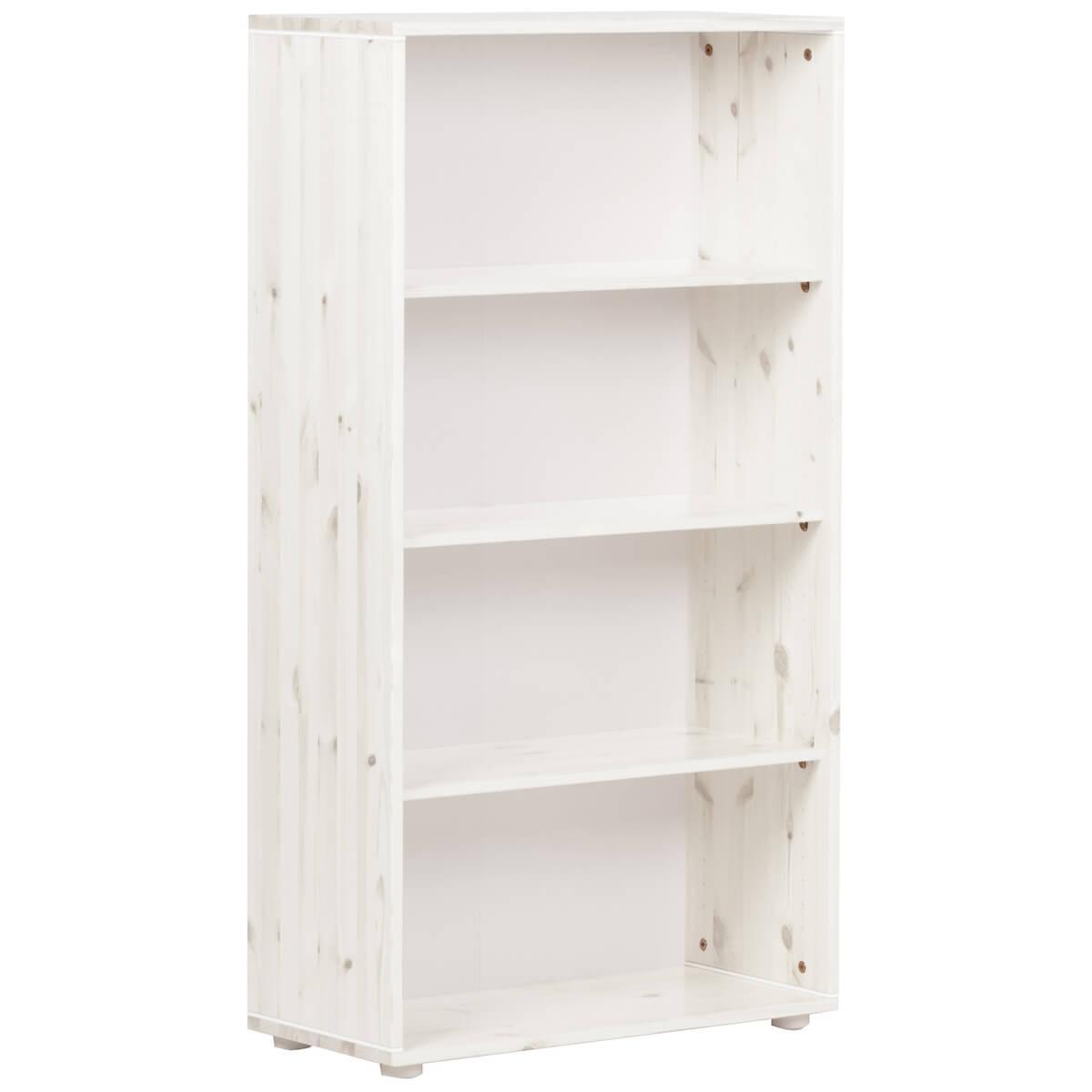 Estantería infantil alta 3 estantes NEW CLASSIC Flexa blanco cal - blanco