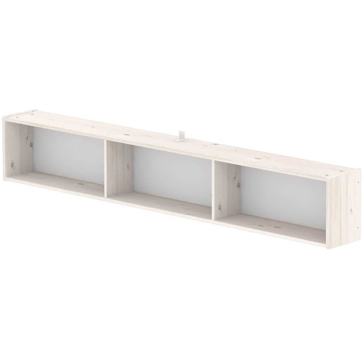 Estantería infantil de pared compartimentos 190 cm CLASSIC Flexa blanco ca