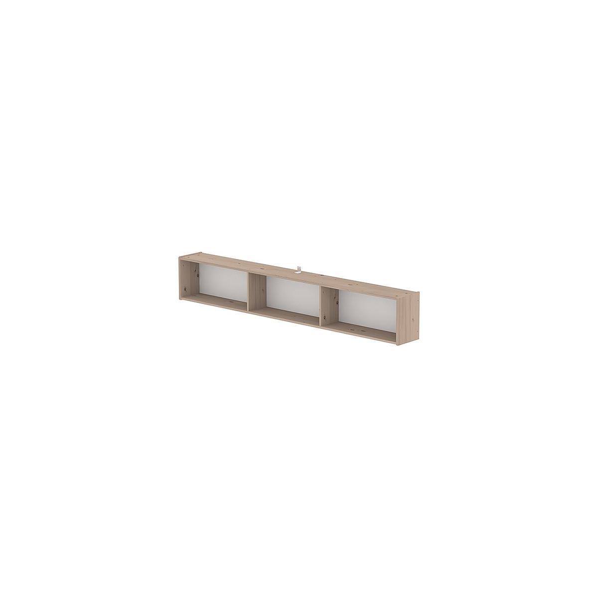 Estantería infantil de pared compartimentos 200 cm CLASSIC Flexa terra