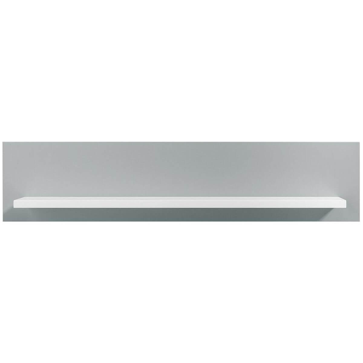 Estantería pared EMMA Bopita blanco-gris