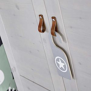 Estructura armario 150cm sin puertas Lifetime blanqueado