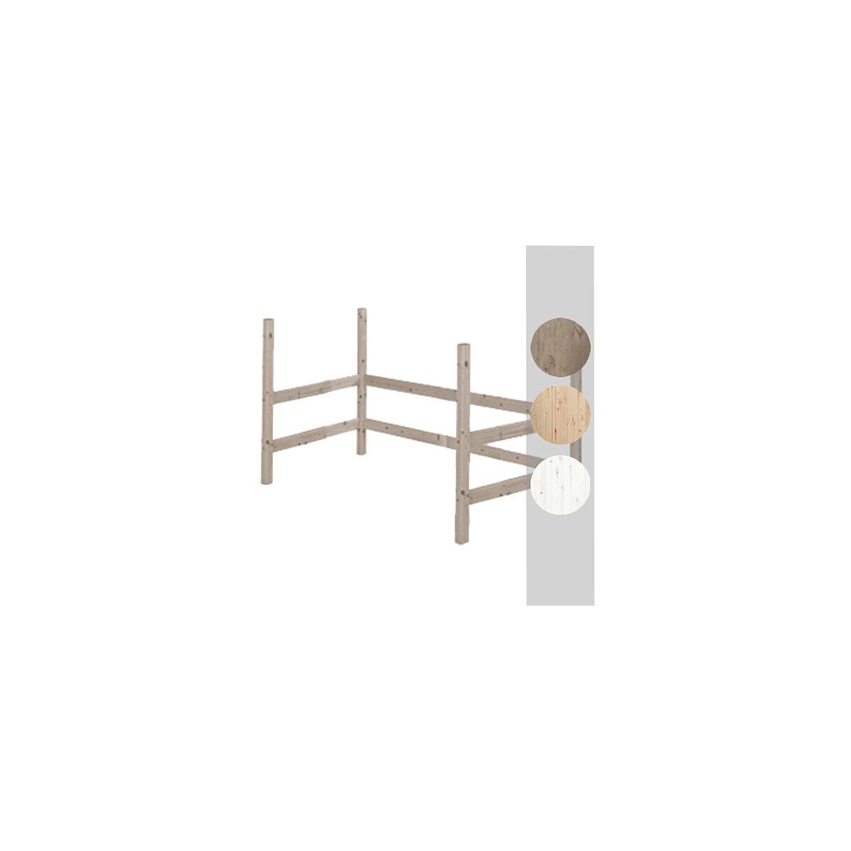 Estructura elevación Cama alta 140x190 CLASSIC Flexa terra