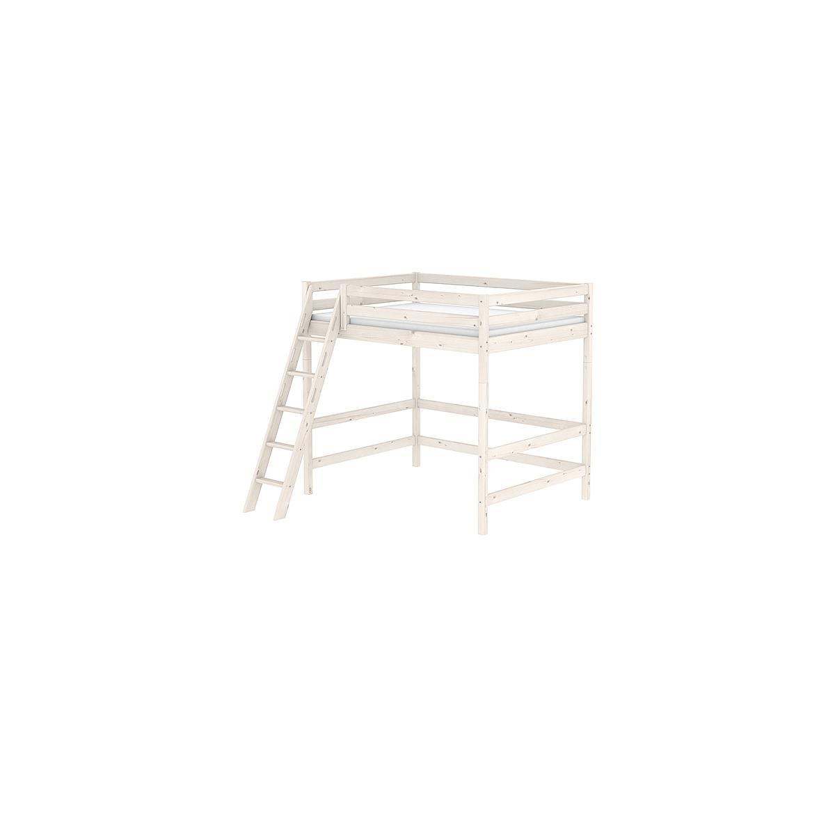 Estructura elevación Cama alta 140x200 CLASSIC Flexa blanco cal
