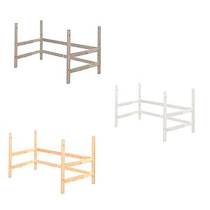 Estructura elevación Cama alta 90x190 CLASSIC Flexa blanco cal
