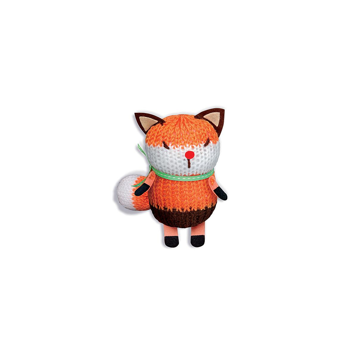French Knitting Fox Doll COSTURA 4M