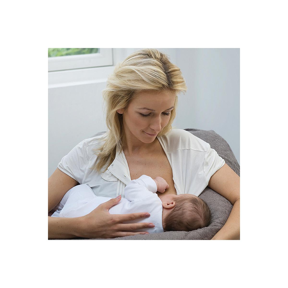Funda cojín maternidad FORM FIX Babylonia verde menta